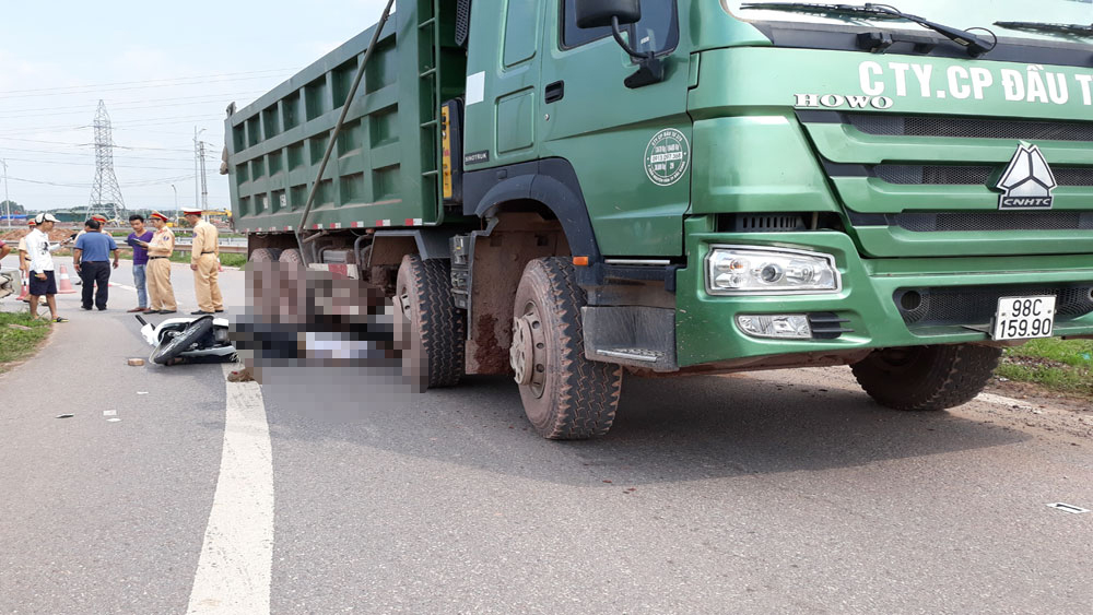 Tai nạn giao thông tại TP Bắc Giang, một người tử vong